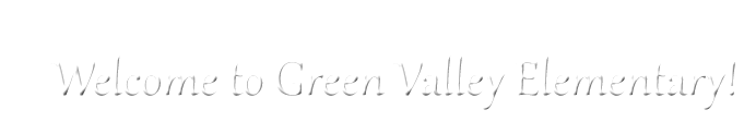 Green Valley Elementary School  Logo